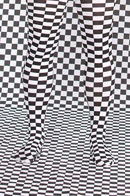 Visual Checkerboard effect