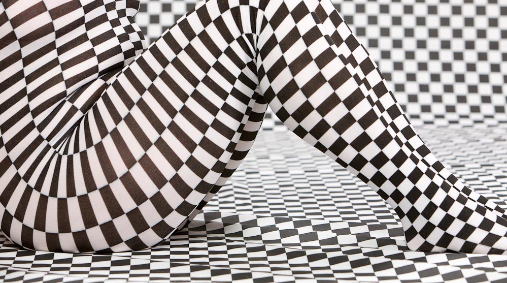 Visual Checkerboard effect